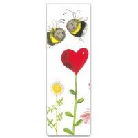 Alex Clark Bookmark Love Heart