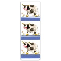 Alex Clark Bookmark Cows