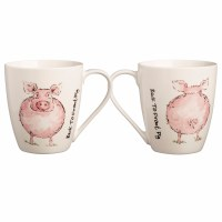 Mug - Back to Front Pig