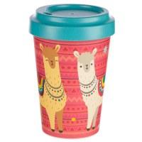 Bamboo Travel Cup Llama