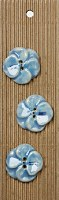 Incomp Buttons L099 Blue Pansy