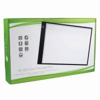 LED Light Box: Ultra-Thin: A4
