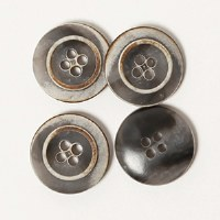 Drops Button 623 Mocha 18mm