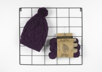EK Knit Kit Cable Hat Drizzle