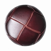 Button Football 28mm Brown