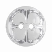 Button Acrylic 15mm Crys Clear