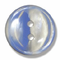 Button Stripe 18mm Blue