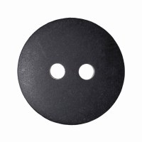 Button Matt Smartie 15mm Black