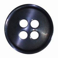 Button 4 Hole 13mm Navy