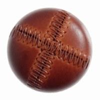 Button Football 20mm Tan