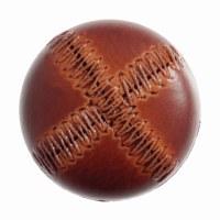 Button Football Tan 28mm