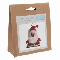 Felt Decoration Kit Santa