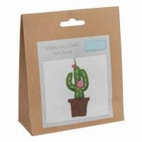 Felt Decoration Kit Cactus