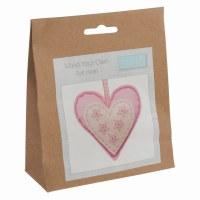 Felt Decoration Kit Heart