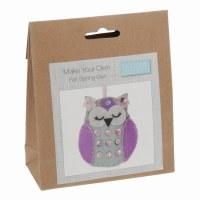 Felt Decoration Kit Spring Owl