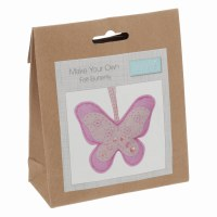 Felt Decoration Kit Butterfly