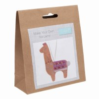 Felt Decoration Kit Llama