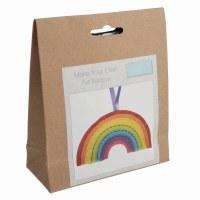 Felt Decoration Kit Rainbow