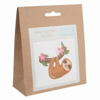 Felt Decoration Kit Sloth
