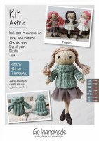 Knitting Kit Astrid Brown/Gree