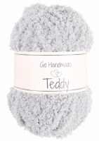 Go Handmade Teddy Lt Grey