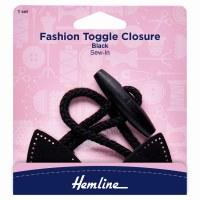 Toggle Closure - Black