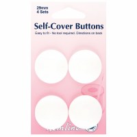 Self-cover buttons nylon 29mm