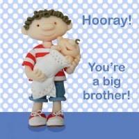 HM Hooray!  You're a big bro!