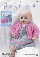Hayfield 2485 Baby Doll Pinafo