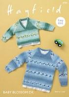 Hayfield 4934 Sweaters in dk