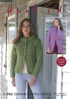 Hayfield 8025 Woman's Jacket