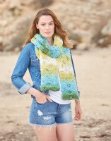 Hayfield 8255 Chunky Scarves