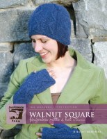 JMF Walnut Square mitts & hat