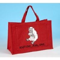 Vanessa Bee Knitting Bag Red