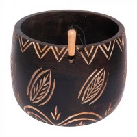 KnitPro Yarn Bowl Leaves