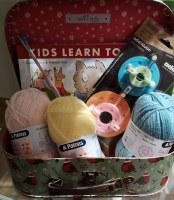 Childrens Knitting Kit Large