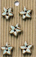 Incomp Buttons L605 Star flowe