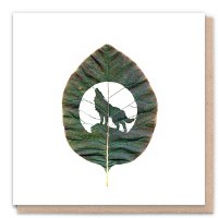 1 Tree Leaf Moments Wolf