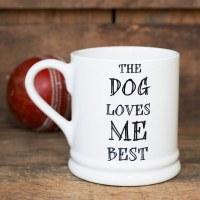 Mutts Mug Dog Loves Me Best