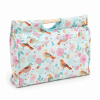 Knitting Bag Wood Hand Birdson
