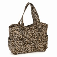 Knitting Bag Leopard