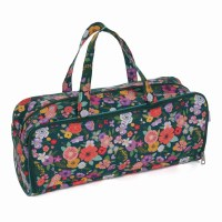 Knitting Bag with needle flora