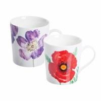 Mug Woodland Poppie Fine China