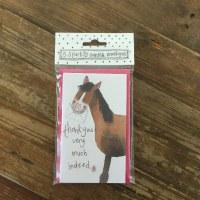 Alex Clark Notelets Horse