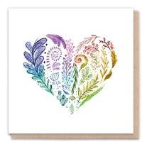 1 Tree Rainbow Heart