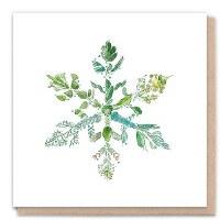 1 Tree Green Snowflake