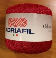 Adriafil Odeon Lame 62 Red