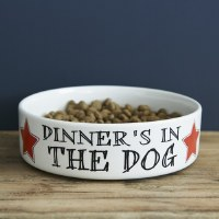 Pet Bowl Dinner's in the Dog
