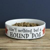 Pet Bowl Hound Dog