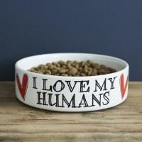 Pet Bowl Love My Humans